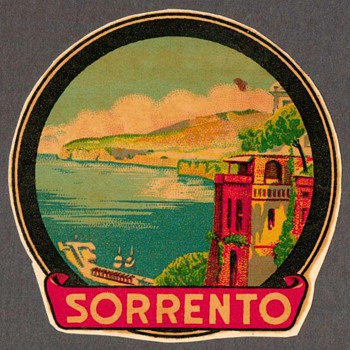 Travel Decal - Sorrento, Italy