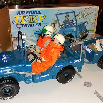 Empire USAF Jeep Machine Gun And Accessories Made For GI Joe and Other Figures - Toys
