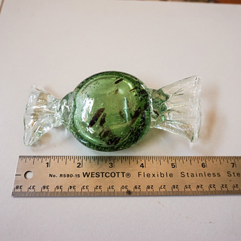 Large Blown Glass Candy Pieces - Art Glass