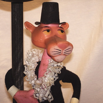 Pink Panther Table Lamp, Nuova linea zero, Italy, Circa 1960 - Lamps