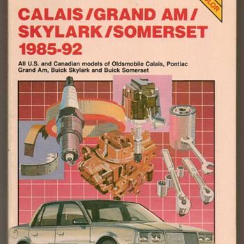 1985-1992 - GM Oldsmobile, Buick, Pontiac Repair Manual