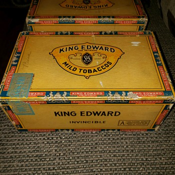 Vintage cigar boxes! - Tobacciana
