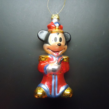 MICKEY MOUSE ORNAMENT..