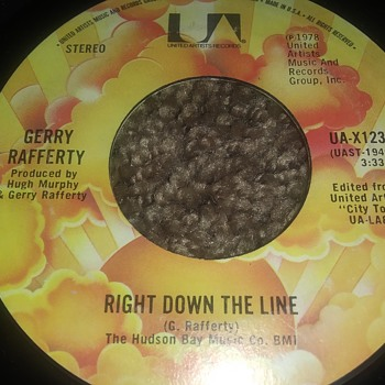 Gerry Rafferty...On 45 RPM Vinyl - Records