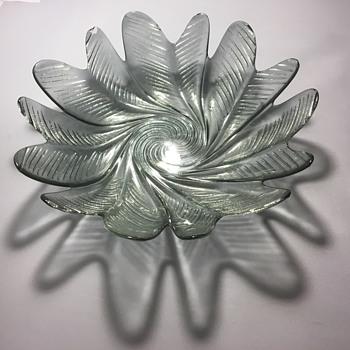 Vintage glass bowl  - Glassware