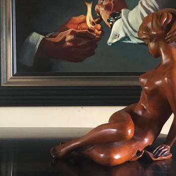 Mid Century Nude Figure  - Pottery