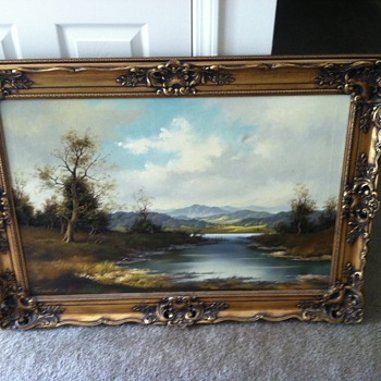 H. Fandell painting
