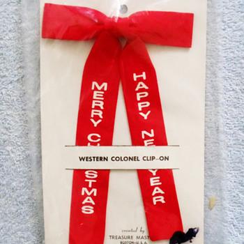 Two vintage Christmas Novelty Ties..... - Christmas