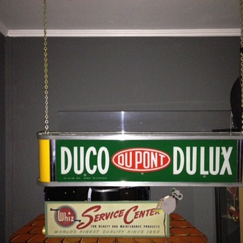 duco dupont electric sgn - Signs