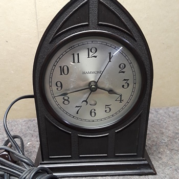 "HAMMOND ""RAVENSWOOD"" electric clock (#2) - Clocks"