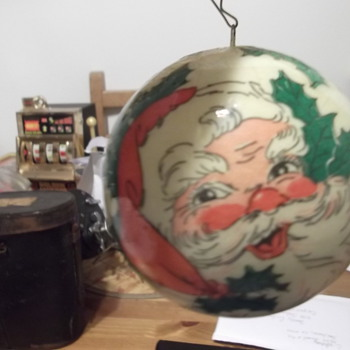Vintage Santa Clause Christmas Ornament