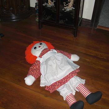 34 inch Raggedy Anne doll - Dolls