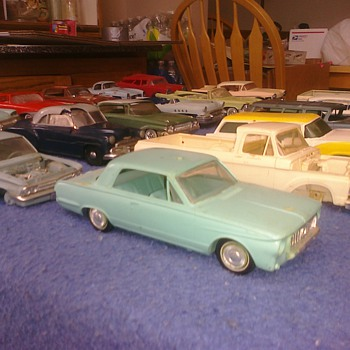 Promo cars...  An item of nostalgia. - Model Cars