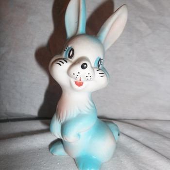 Capodimonte blue bunny? - Figurines