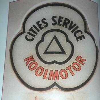 Cities Service Koolmotor - Petroliana