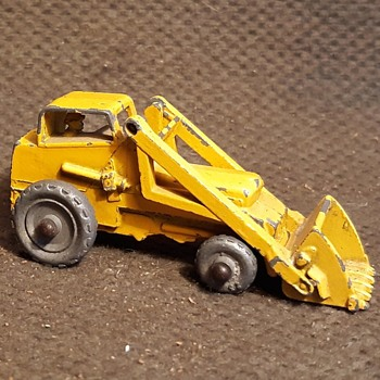 Mach Major Mover Matchbox Monday MB 24A Weatherill Hydraulic Excavator 1956-1958 - Model Cars
