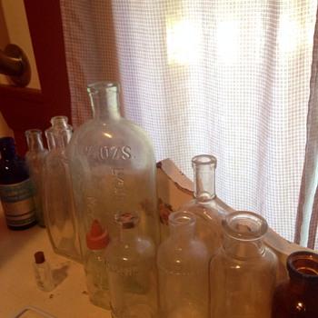 My Vintage Bottles :) - Bottles