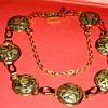 Antique Bracelet with Pretty Pictorials