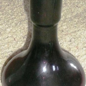 Interesting Old Amethyst Purple Bottle - Bottles
