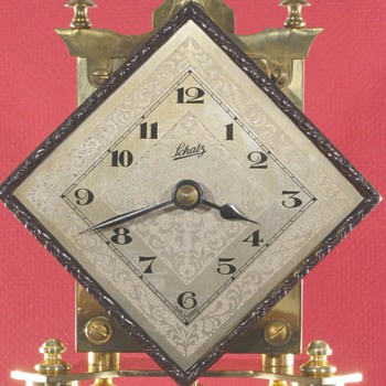 Schatz Diamond Dial 400 Day Clock, 1953 - Clocks