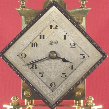 Schatz Diamond Dial 400 Day Clock, 1953