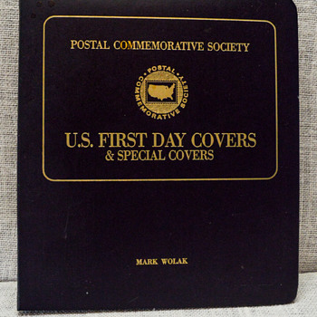 Postal Commemorative Society - First Day Covers and Special Covers Booklet