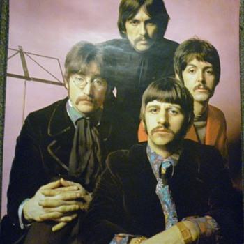 Beatles poster - Music Memorabilia