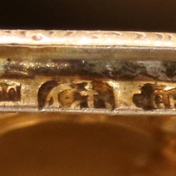 Antique, possibly European, silver pill box - Silver