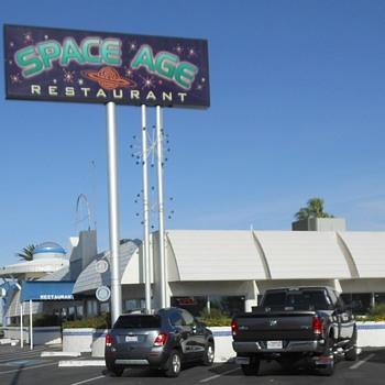 The Space Age Diner Gila Bend AZ - Photographs