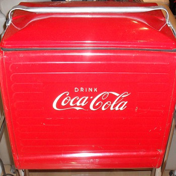 Coke cooler. - Coca-Cola