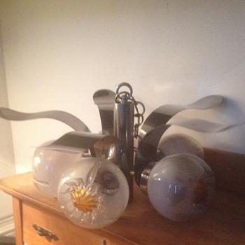 Murano 5 Glass Pendant Light from AV Mazzega - Lamps