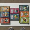 LARGE BLACK BOX TAPES, 11 LOONY TUNES,/ 12  VINTAGE CARTOONS EACH BOX