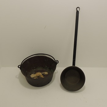 Copper Cookery with Iron Handles - Kitchen