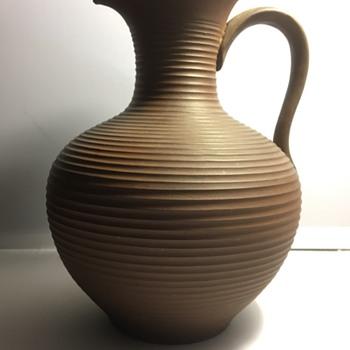 Vintage German pitcher/ jug  - Pottery