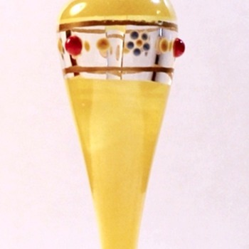Art Deco Perfume Bottle - Westmoreland - Line 1801