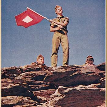 Saturday Evening Scout Post 1970 Boy Scout Calendar Part 2 - Paper