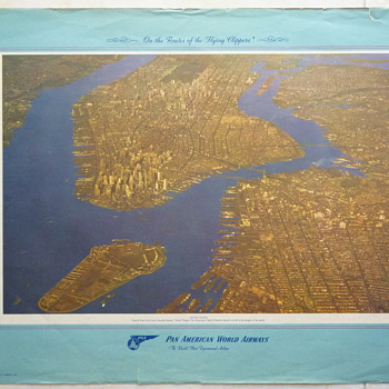 More Pan AM Posters 1950-1951 - Posters and Prints