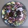 Imperial Carnival Glass Cake Plate