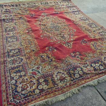 Large Antique Wool Rug Persian?