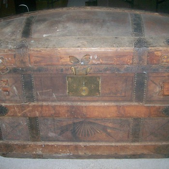 1970's to 1980's Antique Trunk - Furniture