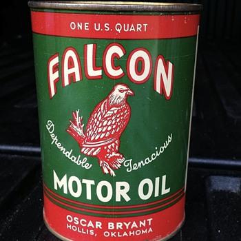 Falcon Motor Oil - Petroliana