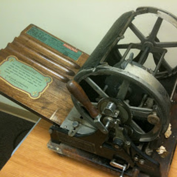 School Mimeograph Machine circa 1917 - Office