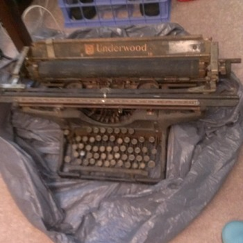 Great Great Great Granny's old typewriter