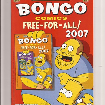 Free Comic Book Day Simpsons
