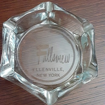 The Fallsview, Ellenville, NY -1960's advertising ashtray - Advertising