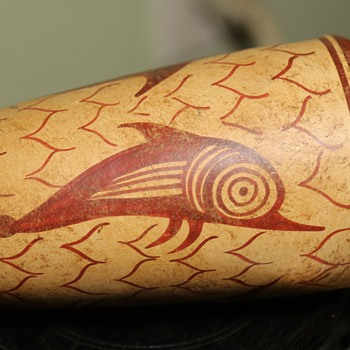 Greek Amphora Replica - Pottery