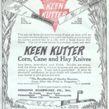 Keen Kutter Farm Knife Ad