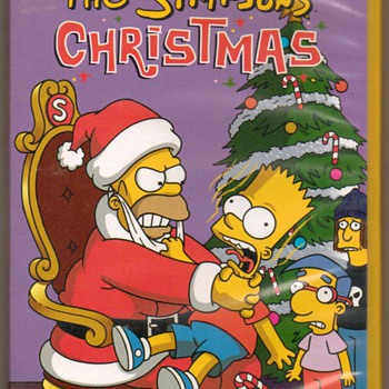 """The Simpsons Christmas"" - DVD Movie - Christmas"