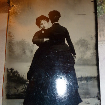 Tintype of Co-joined Twins? - Photographs