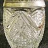 A. H. Heisey & Co. 'Fancy Loop' c1897  cracker jar.